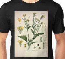 Köhler's Medizinal Pflanzen in naturgetreuen Abbildungen mit kurz erläuterndem Texte  Atlas zur Pharmacopoea 1883 1914 V1 015 Brassica Juncea Unisex T-Shirt