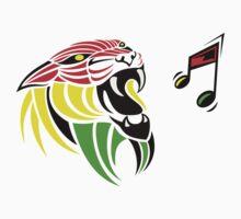 Grunge Reggae Music Lion One Piece - Short Sleeve