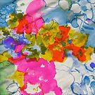 Silky Floral Print by Trish Peach
