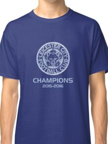 Leicester City Premier League Champions 3 Classic T-Shirt