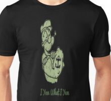 Green Pattern Popeye Unisex T-Shirt