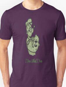 Green Pattern Popeye Unisex T-Shirt