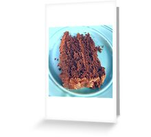 Mexican Hot Chocolate Cake Greeting Card