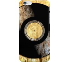 Vintage Vinyl Record Rust Texture - RETRO MUSIC DJ! iPhone Case/Skin