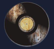Vintage Vinyl Record Rust Texture - RETRO MUSIC DJ! One Piece - Short Sleeve