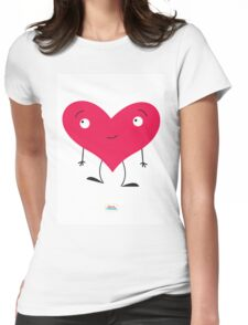 Ben's Hearty Friend Womens Fitted T-Shirt