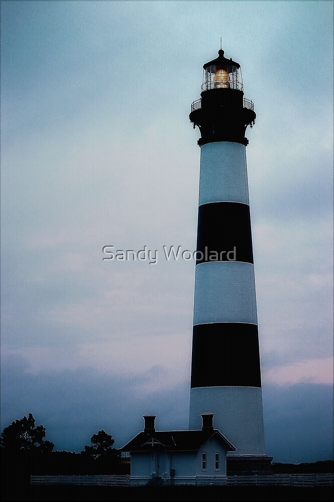 Bodie Lighthouse by Sandy Woolard