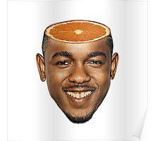 Kendrick Orange Poster
