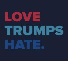 Love Trumps Hate Kids Tee