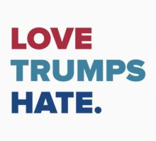 Love Trumps Hate One Piece - Short Sleeve