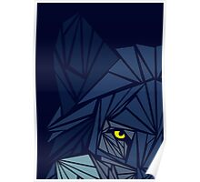 Cool Wolf - Watching Eye Poster