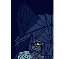 Cool Wolf - Watching Eye Photographic Print
