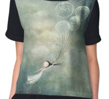 Away with the fairies  Chiffon Top