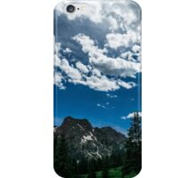 Let go of yourself and embrace nature iPhone Case/Skin