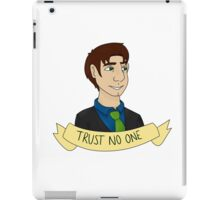 Fox Mulder iPad Case/Skin