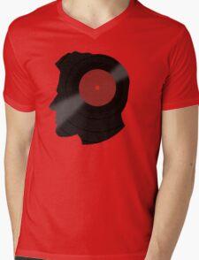 Vinyl Records Lover - The DJ - Vinylized Man T Shirt Mens V-Neck T-Shirt