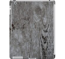 Wood Texture Abstract Pattern iPad Case/Skin