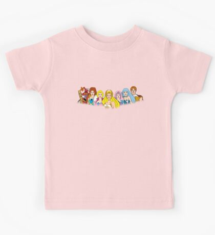 She-Ra Princess of Power - The Great Rebellion #2 - Color Kids Tee