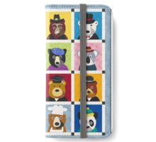 Bears With Hats iPhone Wallet iPhone Wallet/Case/Skin