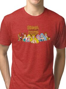 She-Ra Princess of Power - The Great Rebellion #1 - Color Tri-blend T-Shirt