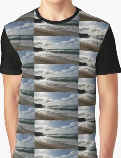 Sunny Hawaiian Beach Fun Graphic T-Shirt