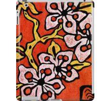 blossom detail iPad Case/Skin
