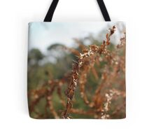 Dried bramble Tote Bag