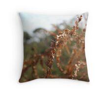 Dried bramble Throw Pillow