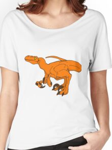 Orange Raptor Women's Relaxed Fit T-Shirt