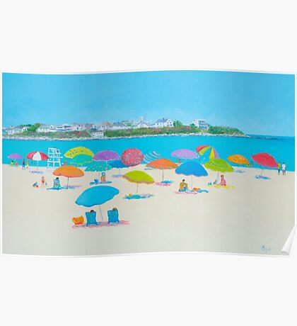 Beach Art - Hampton Beach and Boars Head Poster