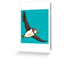 Puffin Winter Hat Greeting Card
