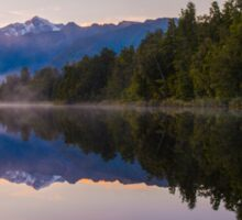 Lake Matheson Sticker