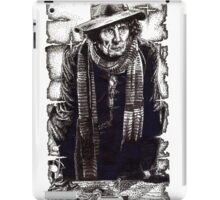 Tom Baker as The Doctor iPad Case/Skin