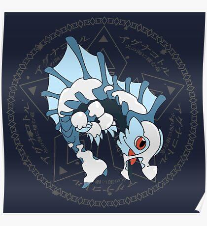 Kawaii Hunter ~ Glacial Agnaktor Poster