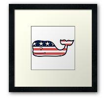 Vineyard Vines America Wale Framed Print