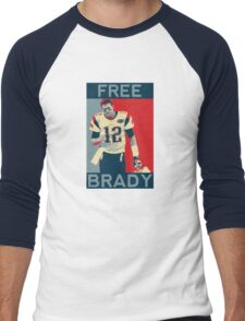 Free Brady 2016 Men's Baseball ¾ T-Shirt