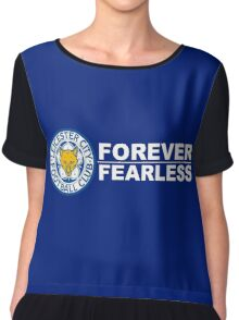 Leicester City Forever Fearless Chiffon Top