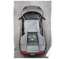 Lamborghini Murcielago LP640 From Above!  Poster