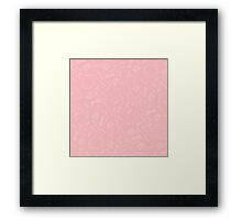 Pretty Prehistoric in Pink Framed Print