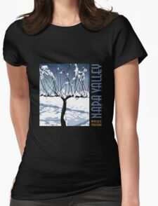 Napa Valley - Winter Vine III Womens Fitted T-Shirt