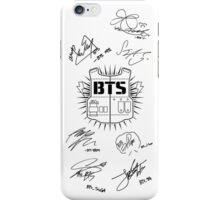 BTS Army + Signatures White v2 iPhone Case/Skin