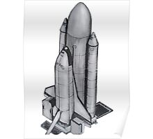 Space Shuttle US Poster