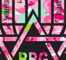 first impressions bbg menorah Sticker