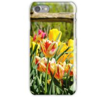 Tulips in the Parks iPhone Case/Skin