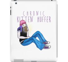 Kitten Huffer iPad Case/Skin