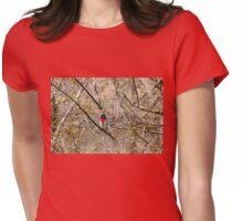Spring Grosbeak Womens Fitted T-Shirt