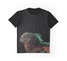 Marine Iguana (Colorized) Graphic T-Shirt