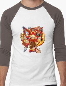 Cyborg 009 Men's Baseball ¾ T-Shirt