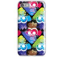 Splatoon Squid Pattern iPhone Case/Skin