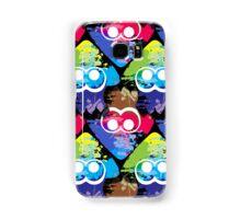 Splatoon Squid Pattern Samsung Galaxy Case/Skin